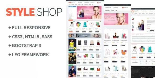 Leo StyleShop - Multistores Prestashop 1.6 and 1.7 Theme - PrestaShop eCommerce