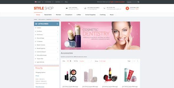 Leo StyleShop - Multistores Prestashop 1.6 and 1.7 Theme