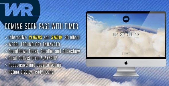 Webgl Website Templates from ThemeForest