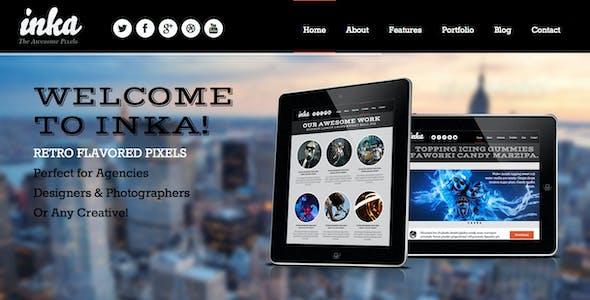 INKA - Retro Responsive WordPress Theme