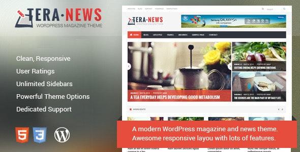 TeraNews - Responsive WordPress Magazine Theme - Blog / Magazine WordPress