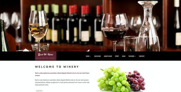 Good Ol` Wine - Winery & Restaurant WordPress Theme