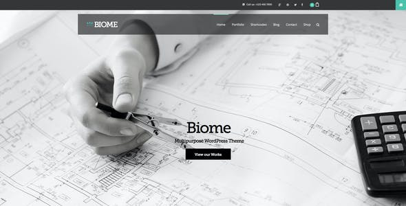 Biome | Multi-Purpose WordPress Theme