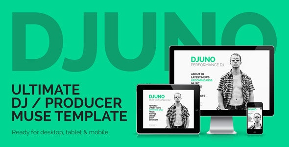 DJuno - Ultimate DJ / Producer Muse Template - Personal Muse Templates