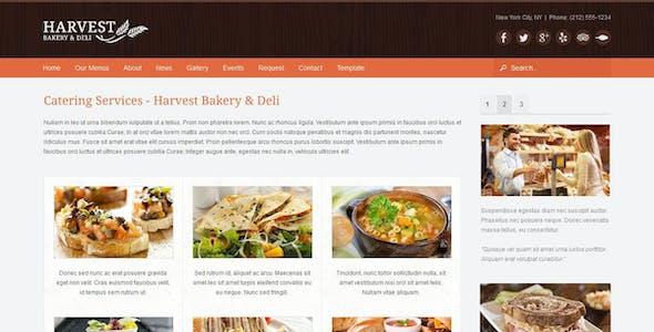Harvest Restaurant & Food Joomla Theme