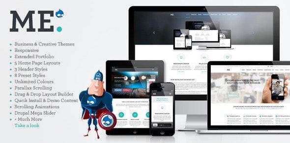 ME - MultiPurpose, Creative Drupal Theme - Creative Drupal