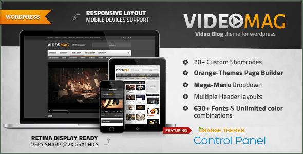 VideoMag - Powerful Video WordPress Theme