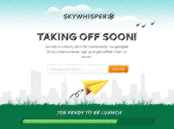 Skywhisper - Under Construction Specialty Pages