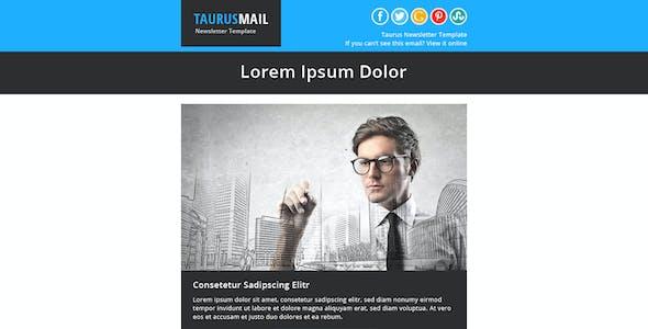 Taurus - Metro Responsive Newsletter Template