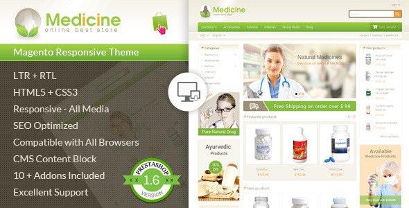 Medicine - Pharmacy Prestashop Theme - Health & Beauty PrestaShop
