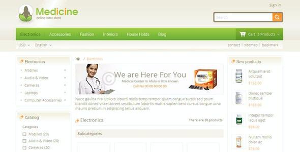 Medicine - Pharmacy Prestashop Theme