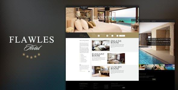 Flawleshotel Online Hotel Booking Template Travel Retail