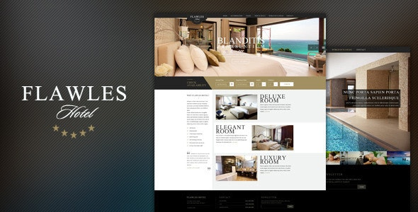 FlawlesHotel - Online Hotel Booking Template - Travel Retail
