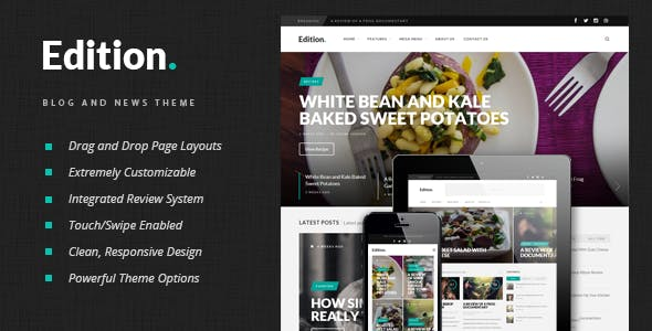Edition - Responsive News and Magazine Theme