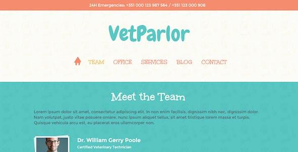 VetParlor - Responsive HTML
