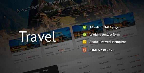 Travel - Premium HTML Template - Travel Retail