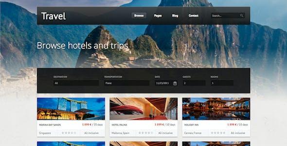 Travel - Premium HTML Template