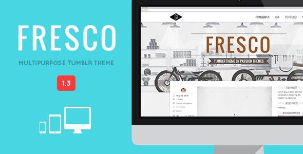 FRESCO - Responsive Multipurpose Tumblr Theme