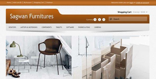 Sagwan Furniture's Opencart Theme