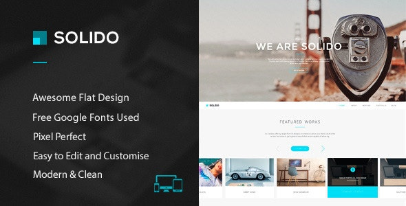 Solido - PSD Template - Creative Photoshop