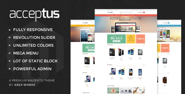Mobile Android Magento Themes & Template from ThemeForest