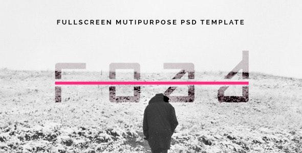 Road - Fullscreen Mutipurpose PSD Template - Creative PSD Templates