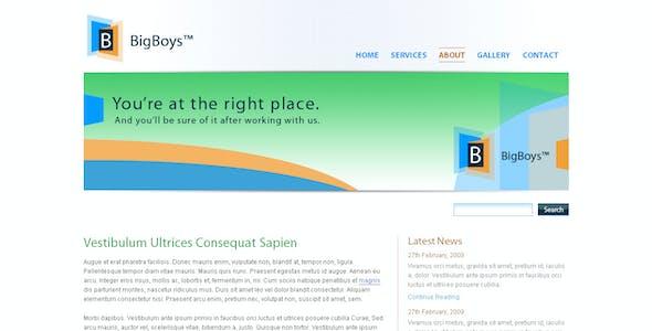 BigBoys Corporate Template