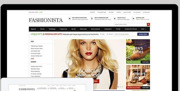 EM Fashionista Responsive Framework Theme