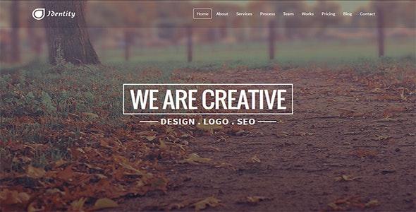 Identity - Responsive Multipurpose Template - Creative Site Templates