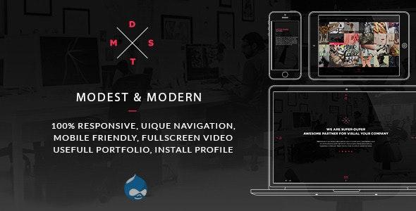 MDST - Modest & Modern Multipurpose Drupal Theme - Portfolio Creative