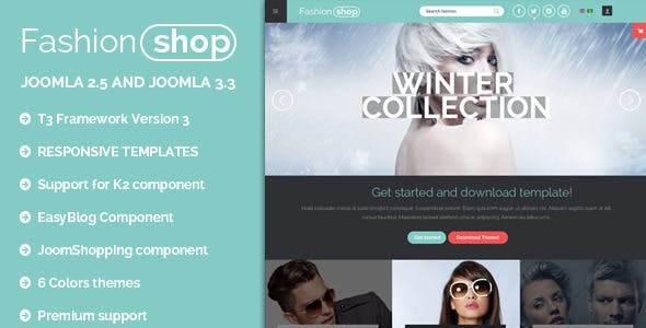 BT Fashion   Ecommerce Joomla responsive templates