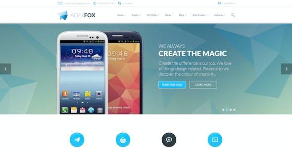 AdelFox | Multi-Purpose PSD Template
