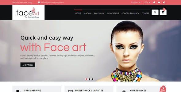 Face Art - Magento Responsive Theme