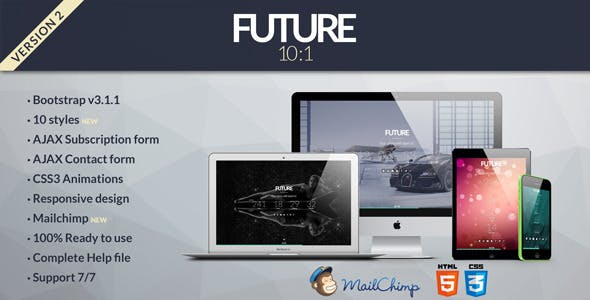 Future - 10 in 1 Coming Soon Template