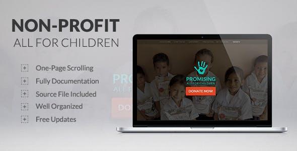 Non-Profit - Promising - All for Children