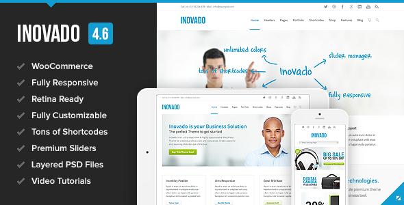 Inovado - Retina Responsive Multi-Purpose Theme - Corporate WordPress