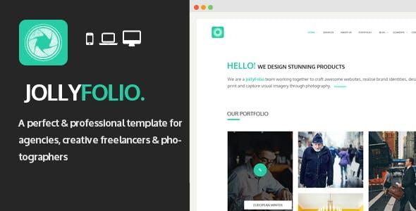 Jollyfolio - Agency & Freelance Portfolio Template
