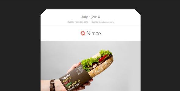 Nimce - Responsive Email + Themebuilder Access