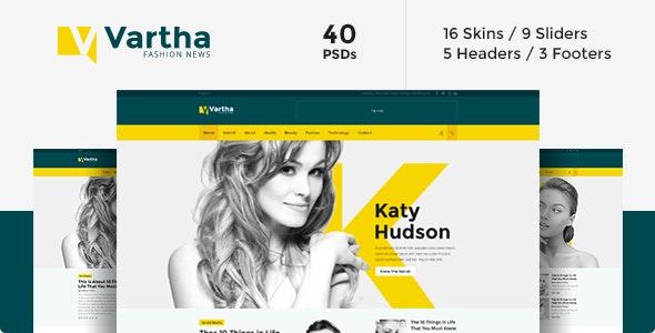 Vartha - PSD - Creative Photoshop