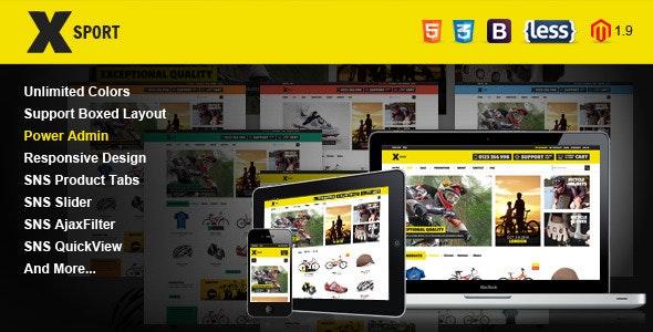 SNS Xsport - Premium Responsive Magento Theme - Magento eCommerce