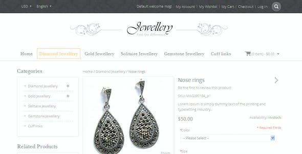 Jewellery - Magento Responsive Template