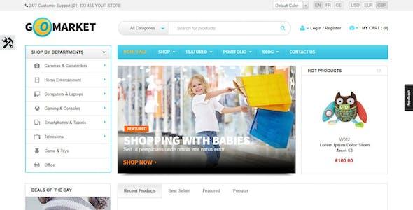 WooCommerce Supermarket Theme - GoMarket