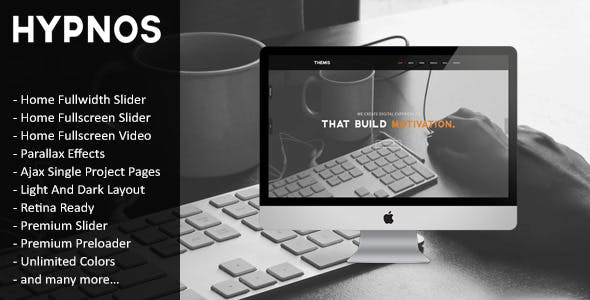 Hypnos - Responsive Retina Ready HTML5 Template