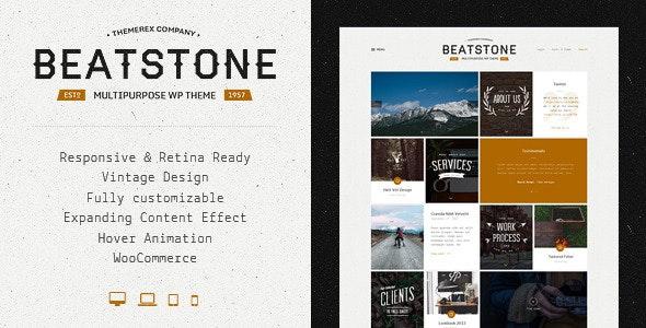 BeatStone   Creative PSD Theme - Creative PSD Templates