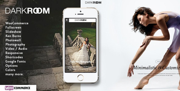 Darkroom | Photography Theme for WordPress - Photography Creative