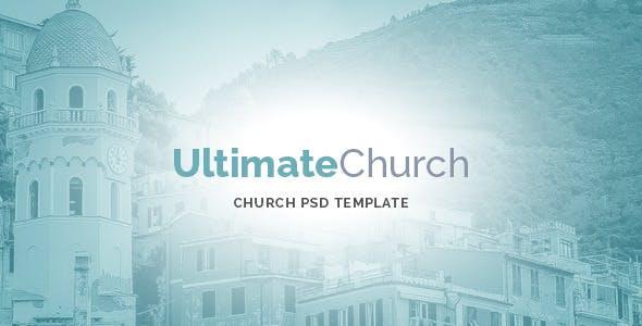Ultimate Church PSD Template