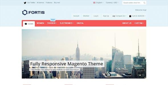 Fortis - Responsive Magento Theme