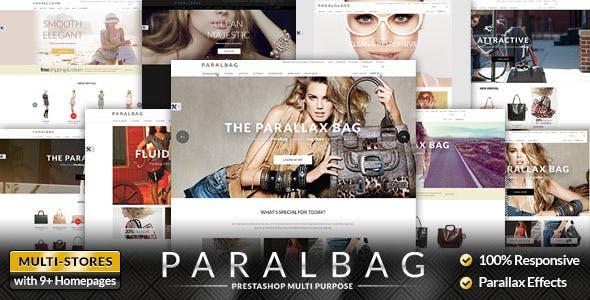 Premium Responsive Parallax Fashion & Bags Store PrestaShop Themes