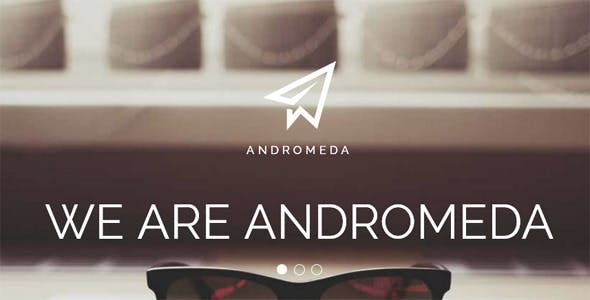 Andromeda One Page Muse Template