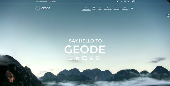 Geode Elegant eCommerce Multipurpose Theme